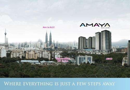 Amaya Maluri - Serviced residence, Cheras, Kuala Lumpur - 2