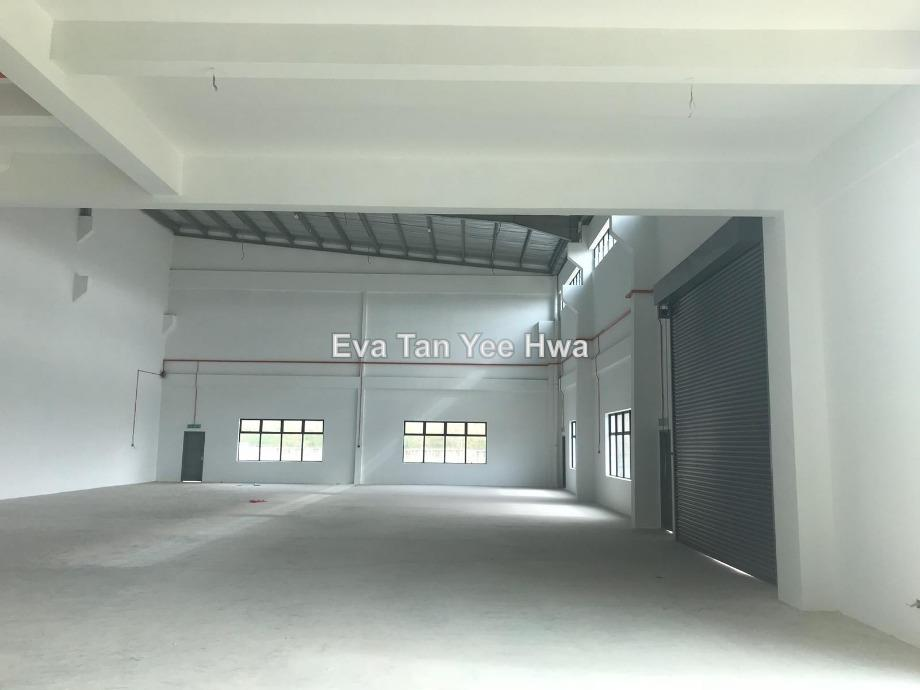 Nusajaya 150 Amp Power Semi-Detached Factory with Mezz. Floor Office for Sale, Johor Bahru, Iskandar Puteri (Nusajaya)