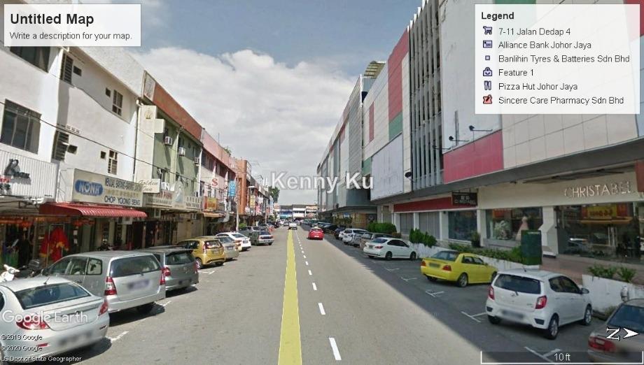 3sty shop @ jalan sutera 3 taman sentosa, Johor Bahru