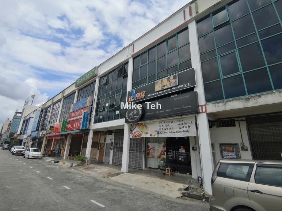3 Story Shop Lot At Kawasan Perniagan Asas Murni, Bukit Mertajam