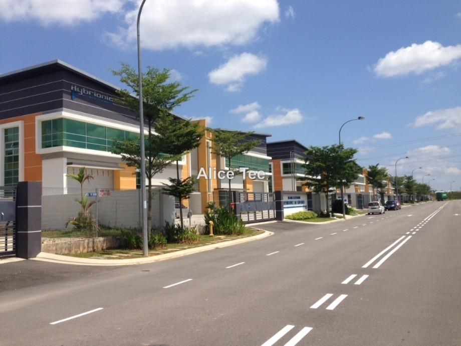 Johor Nusajaya SILC Semi Detached Factory for sale, Nusajaya, Iskandar Puteri (Nusajaya)