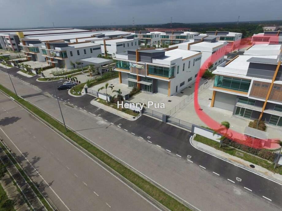 Semi-D factory, Smart Industrial Park @ SILC, Gelang Patah