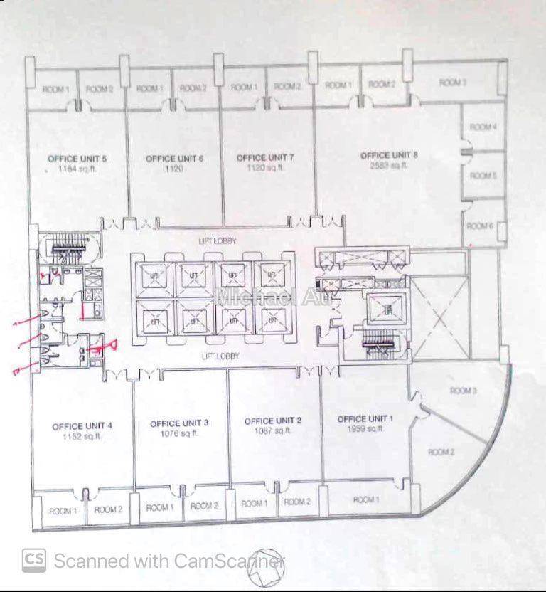 Trillion office KLCC, City Centre