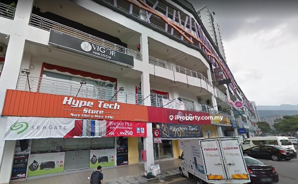 The Golden Triangle facing Main Road, Double Storey Commercial, Bayan Baru