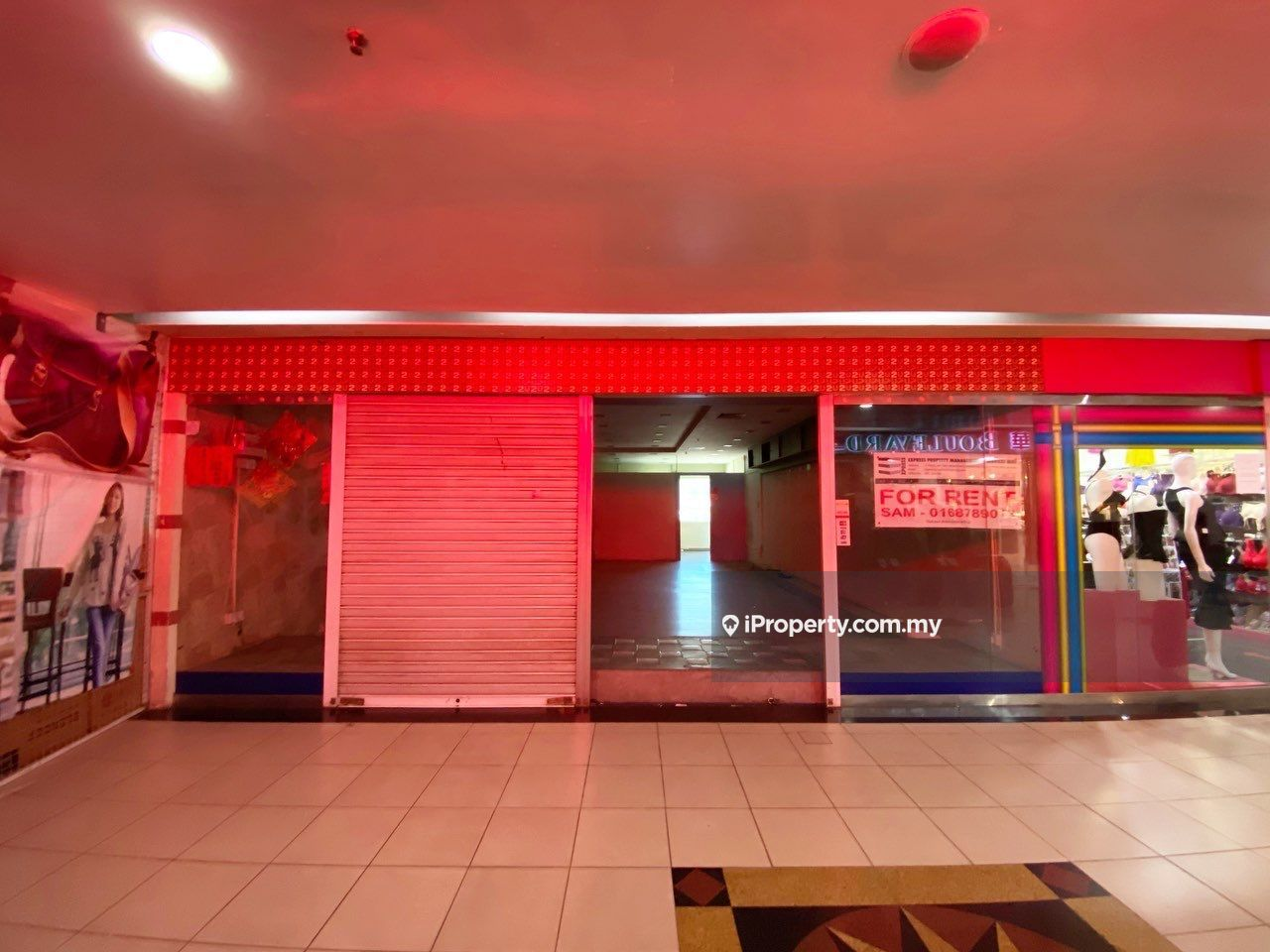 First Floor, End Unit at Imperial Mall, Imperial Mall, Miri
