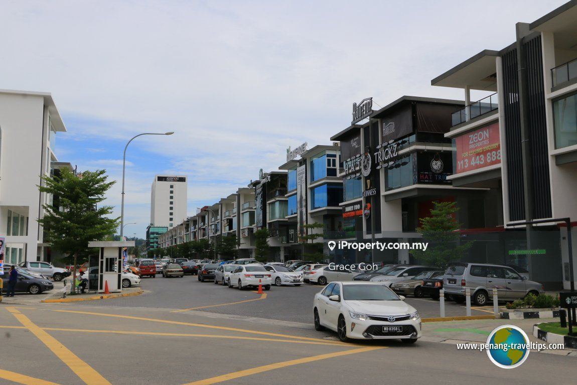 Icon city corner unit, Bukit Mertajam