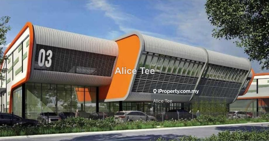 Johor Nusajaya High Quality Specs Medium Ind. Semi Detached Factory , Johor, Iskandar Puteri (Nusajaya)