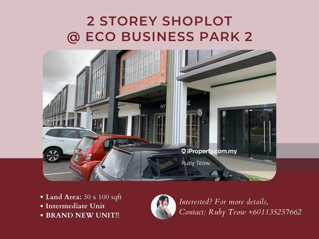 Eco Business Park 2 Shop Lot (2 Storey) for RENT,  TAMAN EKOPERNIAGAAN 2, Senai