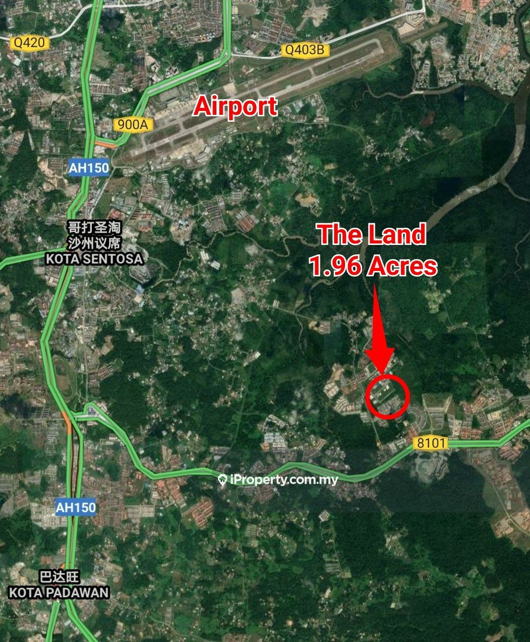 2 Acres Land (RENT) at Stakan 7 mile Muara Tuang Kuching, Kuching