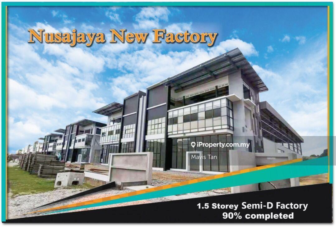 1.5 Storey Medium Industrial, ALAM JAYA, Iskandar Puteri (Nusajaya)