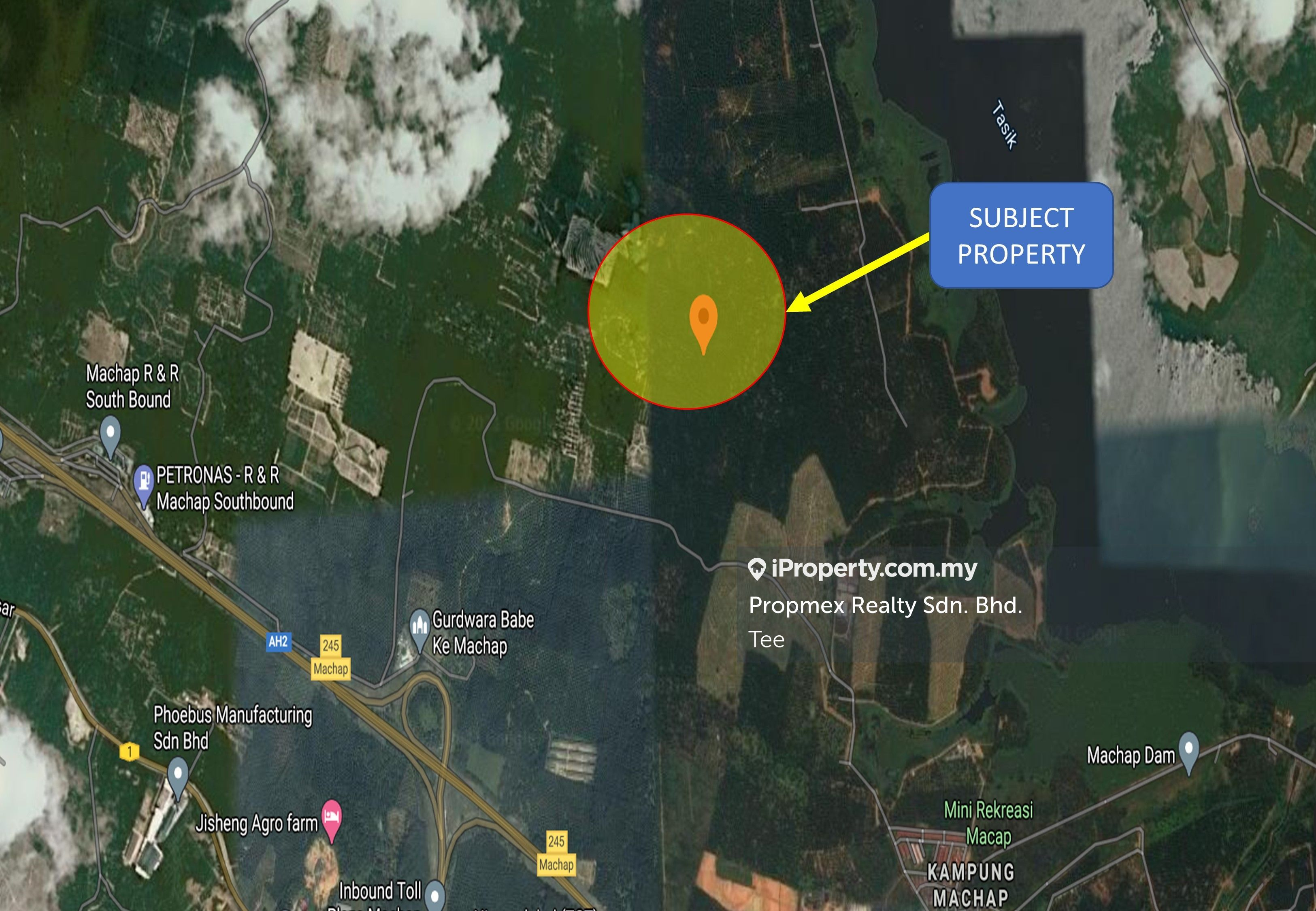 Simpang Renggam Flat Land suitable for Plantation or Durian Ayer Hitam Johor, Simpang Renggam Flat Land suitable for Plantation, Ayer Hitam