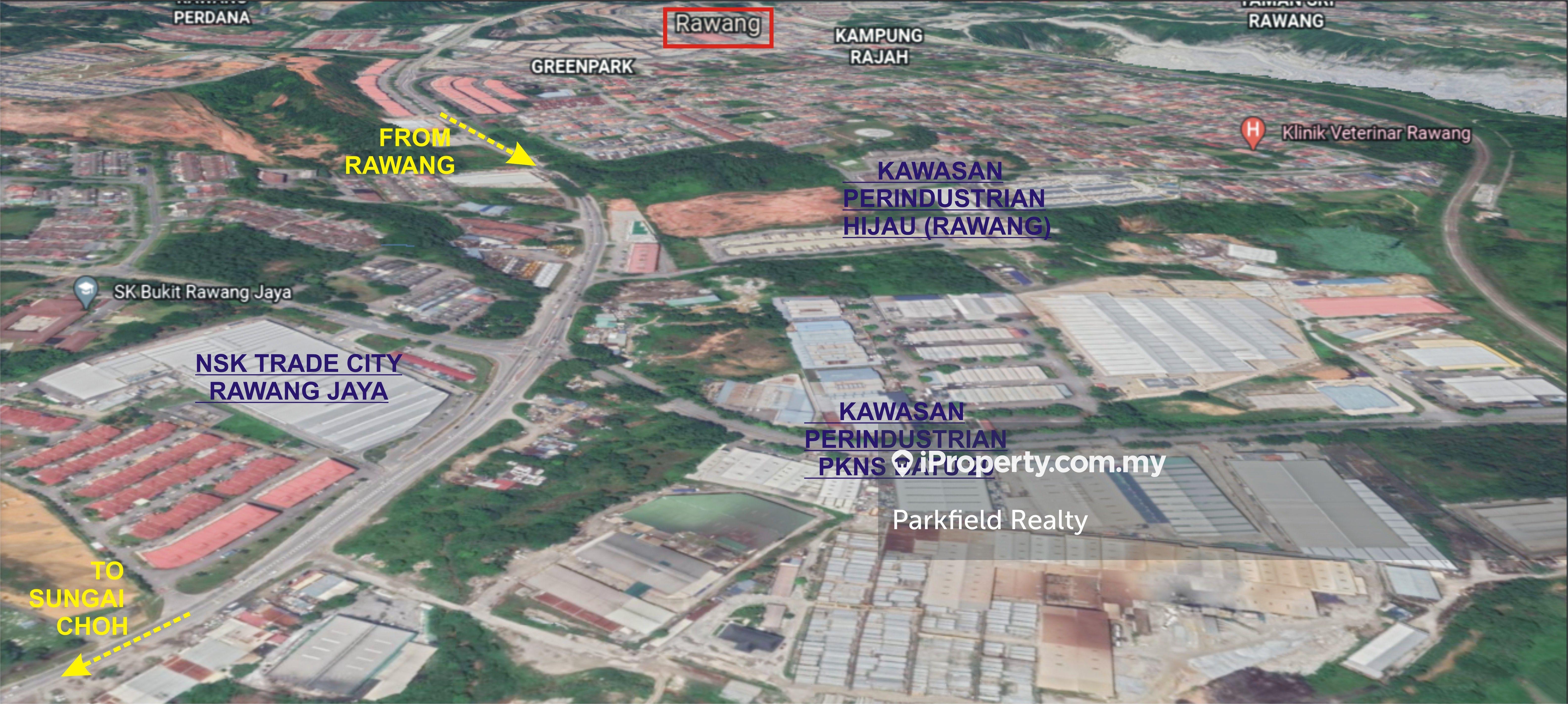 Agricultural Land (Zone Industrial) Kawasan Perindustrian PKNS Batu 20, Rawang, Near NSK Rawang Jaya, Rawang
