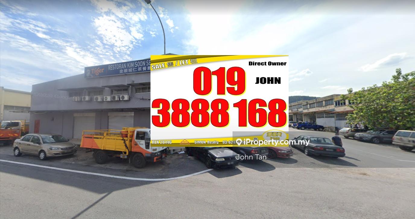Kepong, Ehsan Jaya 2sty Factory (Corner, With CF, Facing main road), Kepong