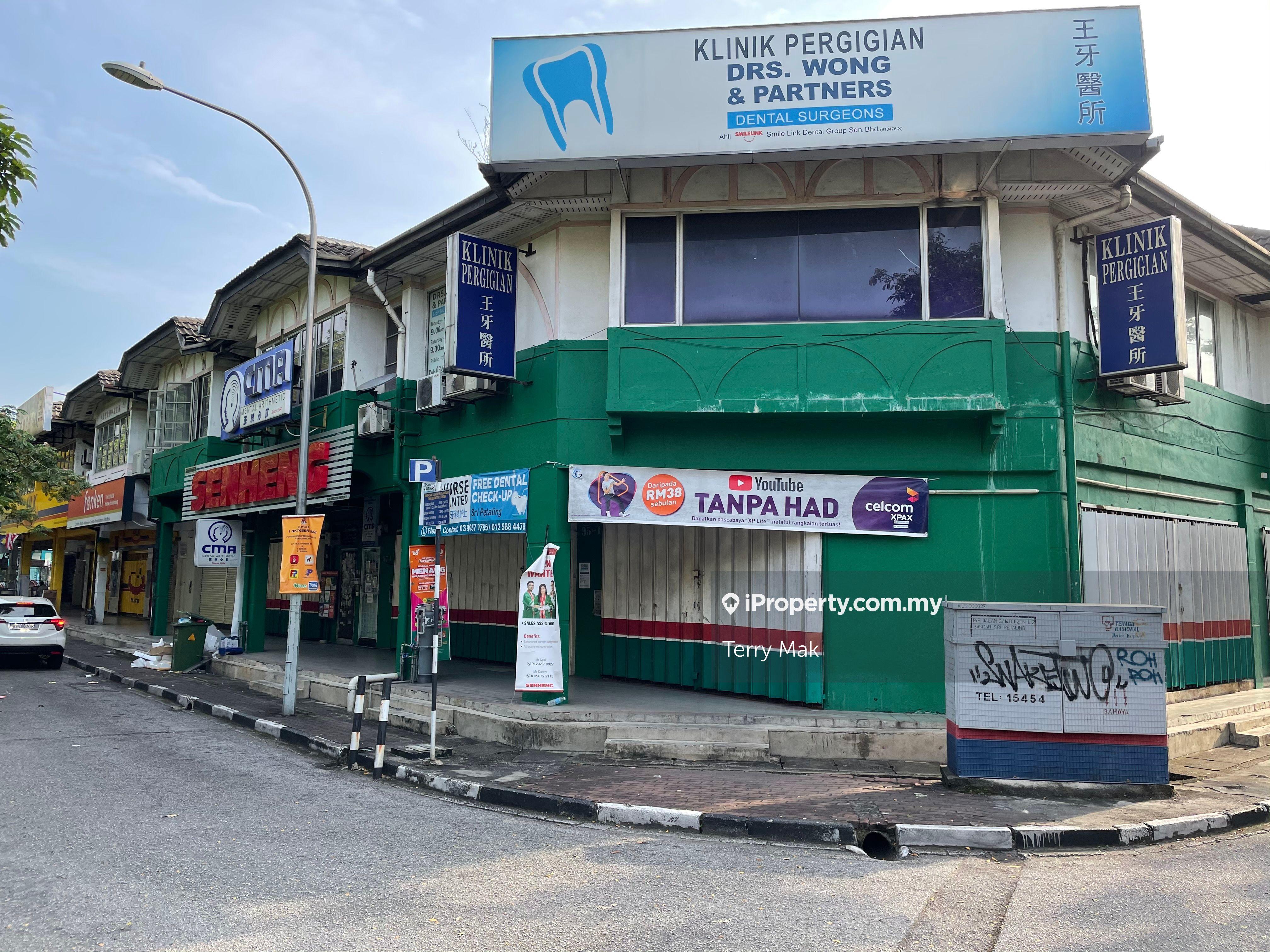 SERI PETALING 2 STOREY SHOP, Sri Petaling