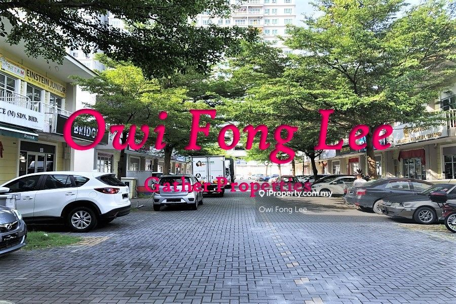 (Ground Floor) CORNER The One Terrace BU:1,100sf Shoplot 1 Fix Carpark, Bayan Baru