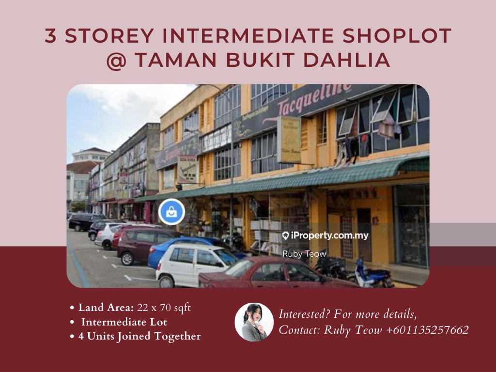 Taman Bukit Dahlia 3 Storey Shoplot for Sale, Taman Bukit Dahlia, Pasir Gudang