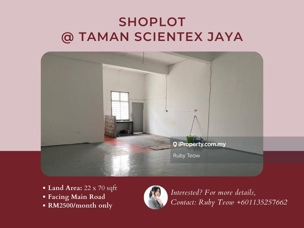 Scientex Jaya @ Senai Shoplot for Rent, Taman Scientex Jaya, Senai