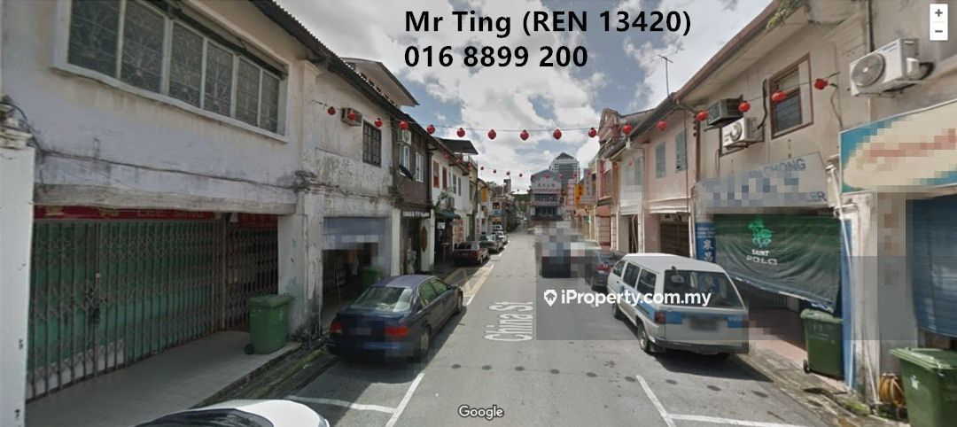 China Street 3 1/2 Storey Commercial Shoplot For Sale, Kuching
