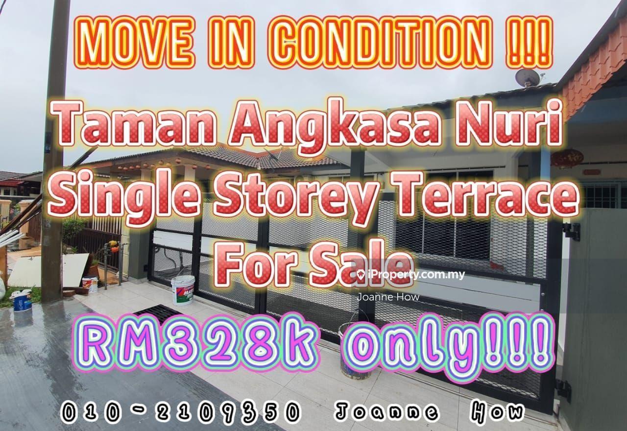 RENOVATED Angkasa Nuri Single Storey Batu Berendam, Melaka Tengah