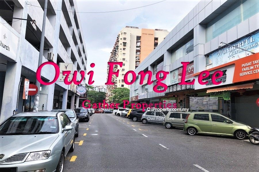 3 Storey Commercial Lot Farlim Business Center Sale W/Tenancy, Ayer Itam