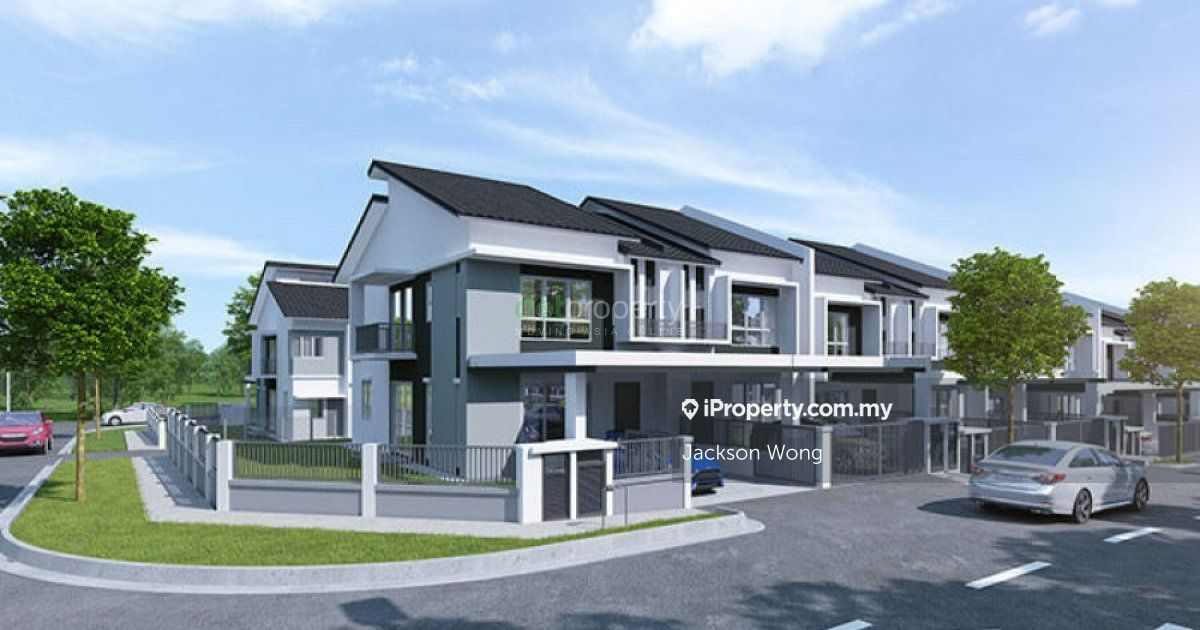 New Double Storey Corner House @Batang Kali, Serendah