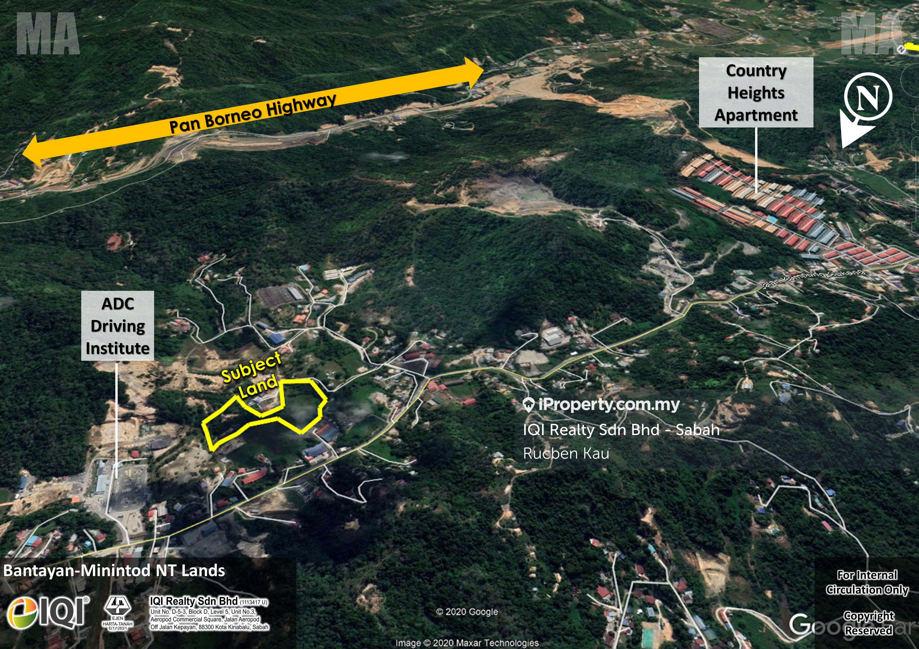 Donggongon Bantayan-Minintod NT Lands, Penampang