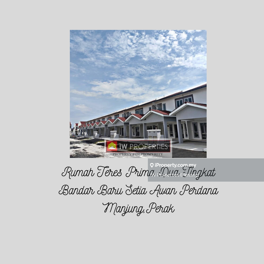 Bandar Baru Setia Awan Perdana Teres 2 Tingkat, Seri Manjong