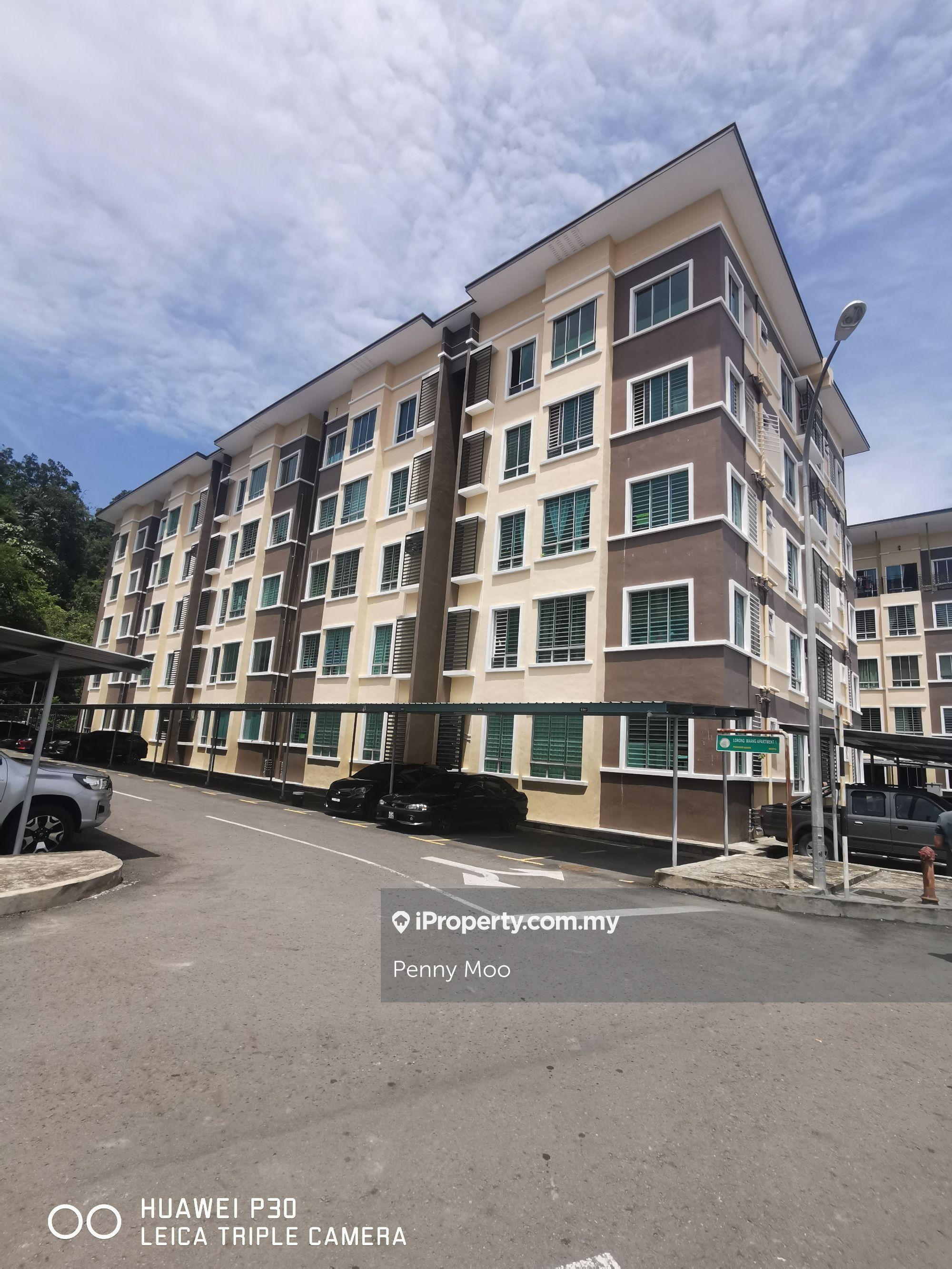 Maang Apartment, Penampang