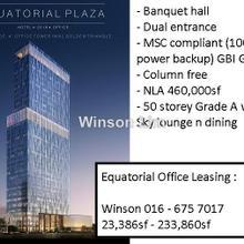 Menara Equatorial Plaza Equatorial hotel, KLCC, City Centre