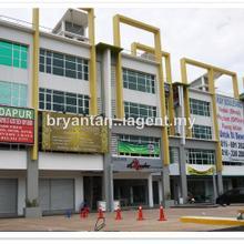ukay bouleavard 4sty shop with lift, ulu klang , MRR2 residential lot, Ulu Klang