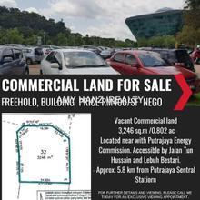 Commercial Land Putrajaya, Precint 2, Putrajaya