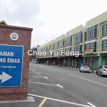 Cheng Emas 3 story shop, Batu Berendam, Cheng, Batu Berendam