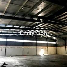 Freehold Single Storey Warehouse for Sale, Melaka Tengah