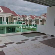 Gated Royale City Nova Double Storey for RENT, Bukit Minyak