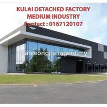 Kulai detached factory warehouse, Kulai