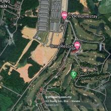 Orna Golf club resort Banglow land for Sales, Air Panas Gapam, Jasin