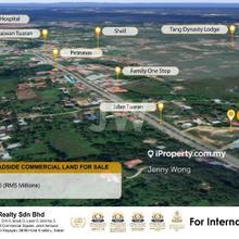 TAMPARULI / TUARAN ROADSIDE COMMERCIAL LAND FOR SALE, Tuaran, Kota Kinabalu