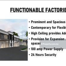 Chemor Business Park 1.5 sty Semi D Factory , Chemor