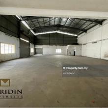 1.5 Storey Semi-D Factory For Rent, Tasek IGB Tasek Ipoh Perak, Ipoh