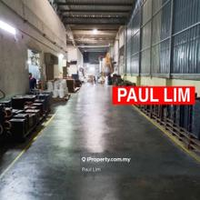 WAREHOUSE RENT AT GEORGETOWN 5275SQFT RARE IN MARKET RM1.80/SF , Georgetown
