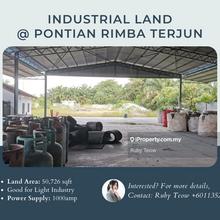 Pontian Rimba Terjun Industrial Land for Rent, Rimba Terjun, Pontian