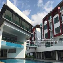 4.5 Storey Terrace Link House,Private Lift,Gated, Ayer Itam