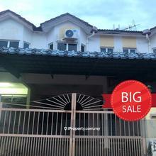Ipoh Lahat Double Storey Terrace House , Lahat