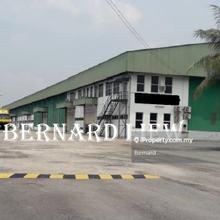 13.3ac Big Kulim Factory Warehouse FOR SALE , Padang Serai