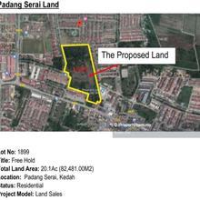 Development land at Padang Serai For Sale, Padang Serai , Kulim