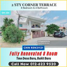 Corner Fully Renovate Freehold Desa Baru Melaka, Bukit Baru