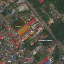 Jalan Lurah 23 KempaS Land Lot Near Main Road Commercial Zone, Johor Bahru