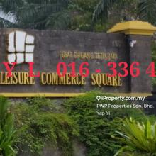Leisure Commerce Square Jalan PJS 8/9, Bandar Sunway, Petaling Jaya