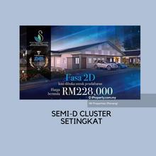 Bandar Baru Setia Awan Perdana Semi D Setingkat, Seri Manjong
