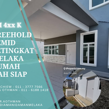 Completed Freehold Semi D Booking Rm 500 , Bukit Rambai